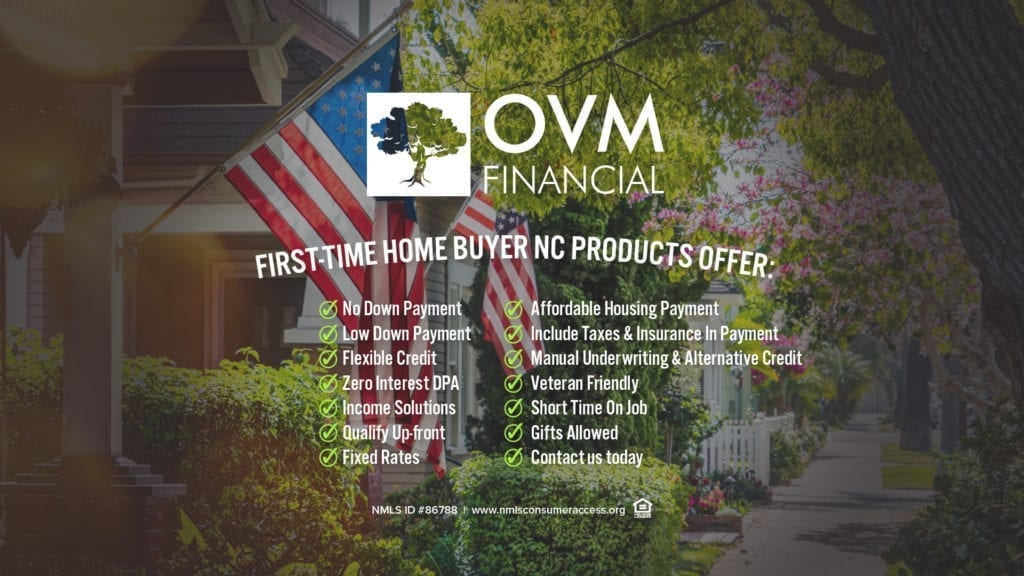 First-Time Home Buyer NC Products