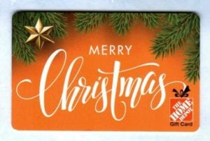 A Home Improvement Store Gift Card